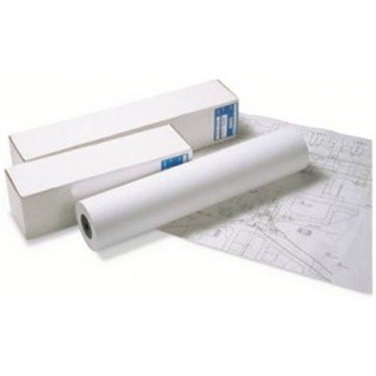 Bobine papier blanc CIE164 Surfacé 90g pour traceur 0,610mmx45m. Impression Jet d'encre