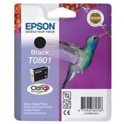 Epson T0801 - Colibrir - Noir - Cartouche d'encre Epson