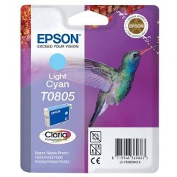 T0805 Cyan Clair Cartouche Epson