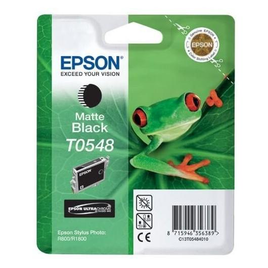 T0548 Noir Mat Cartouche Epson