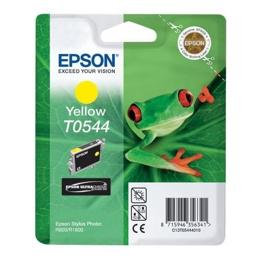 T0544 Jaune Cartouche Epson