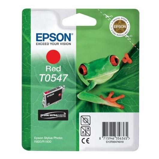 T0547 Rouge Cartouche Epson