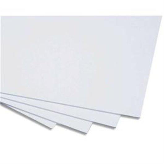 Cartons blancs et bristol carton contrecollé 1 face 50x65 cm médium 600g