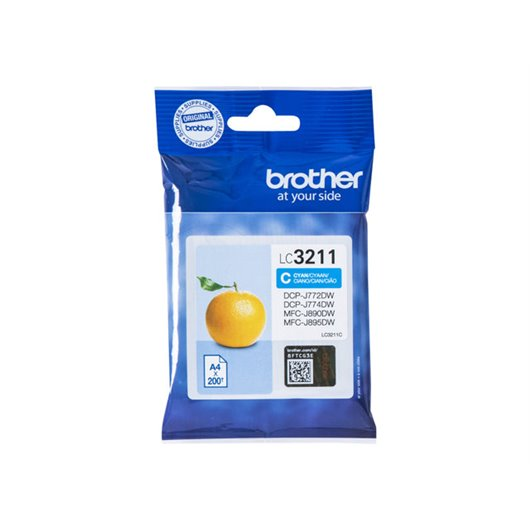 Cartouche d'encre Brother LC-3211 Cyan | Direct Cartouche