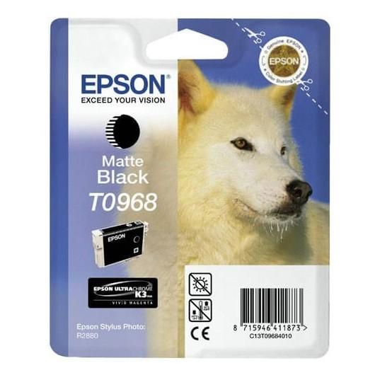 T0968 Noir Mat Cartouche Epson