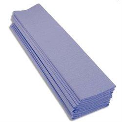 ROULEAUX Paquet 10 feuilles crépon M40 2X0.50M Bleu ciel