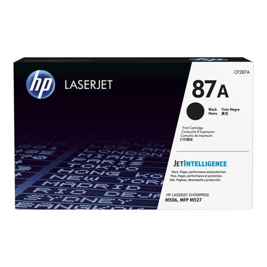 HP CF287A - HP 87A - Noir - Toner LaserJet HP