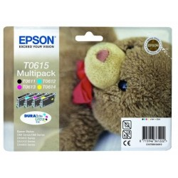 Epson T0615 - Ourson - MultiPack de 4 Cartouches Epson