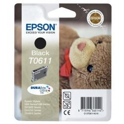 Epson T0611 - Ourson - Noir - Cartouche d'encre Epson