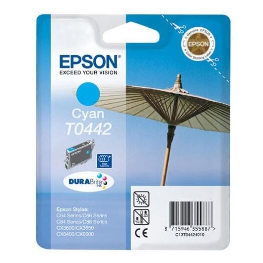 T0442 Cartouche Jet d'Encre Cyan Epson Parasol