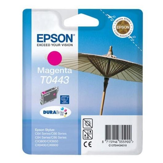 T0443 Cartouche Jet d'Encre Magenta Epson Parasol