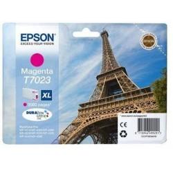 Epson T7023 XL - Tour Eiffel - Magenta - Cartouche d'encre Epson