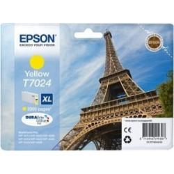 Epson T7024 XL - Tour Eiffel - Jaune - Cartouche d'encre Epson