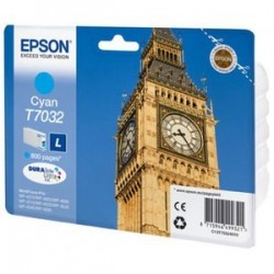 Epson T7032 - Big Ben - Cyan - Cartouche d'encre Epson