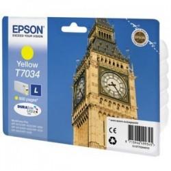 Epson T7034 - Big Ben - Jaune - Cartouche d'encre Epson