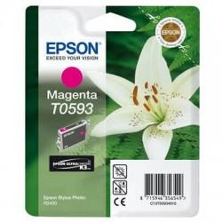 Epson T0593 - Lys - Magenta - Cartouche d'encre Epson