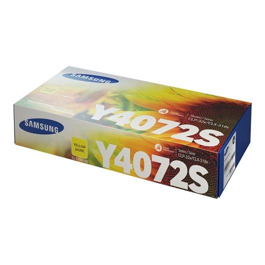 Samsung CLT-Y4072S - Jaune - Toner Samsung