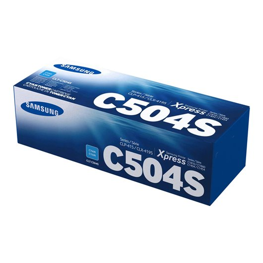Samsung CLT-C504S - Cyan - Toner Samsung
