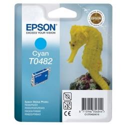 Epson T0482 - Hyppocampe - Cyan - Cartouche d'encre Epson