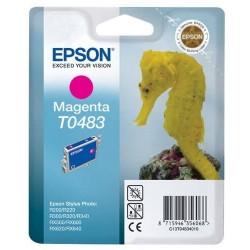 Epson T0483 - Hyppocampe - Magenta - Cartouche d'encre Epson