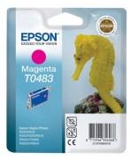 T0483 Magenta Cartouche Jet d'Encre Epson Hyppocampe