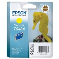 T0484 Jaune Cartouche Jet d'Encre Epson Hyppocampe