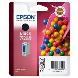 Epson T028 - Bonbons- Noir - Cartouche d'encre Epson