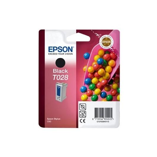 T028 Noir Cartouche Jet d'Encre Epson Bonbons