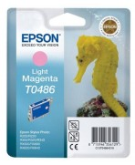 T0486 Magenta Clair Cartouche Jet d'Encre Epson Hyppocampe