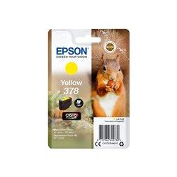 EPSON Singlepack Yellow 378 Eichhörnchen Clara Photo HD Ink