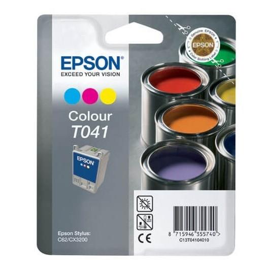 T0410 Cartouche Jet d'Encre Couleur Epson Pot de Peinture