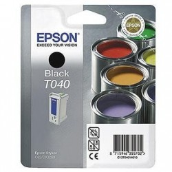 Epson T040- Pot de Peinture - Noir - Cartouche Epson