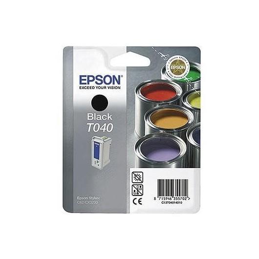 T0401 Cartouche Jet d'Encre Noir Epson Pot de Peinture