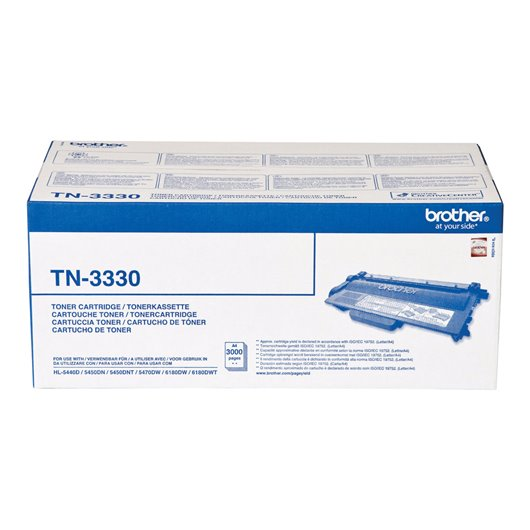 Brother TN-3330 - Noir - Toner Brother
