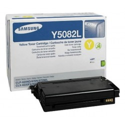 Samsung CLT-Y5082L - Jaune - Toner XL Samsung