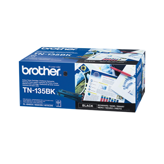 Brother TN135BK - Noir - Toner Brother