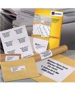 AVERY Boîte de 2400 étiquettes copieur coins carrés 70X37 blanc DP247-100