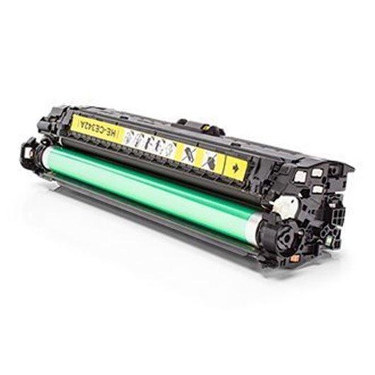 HP CE342A - HP 651A - Jaune - Toner Compatible HP