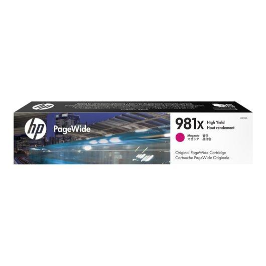 HP 981X - HP L0R10A - Magenta - Cartouche PageWide grande capacité HP