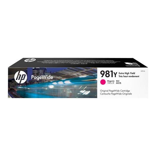 HP 981Y - HP L0R14A - Magenta - Cartouche PageWide extra grande capacité HP