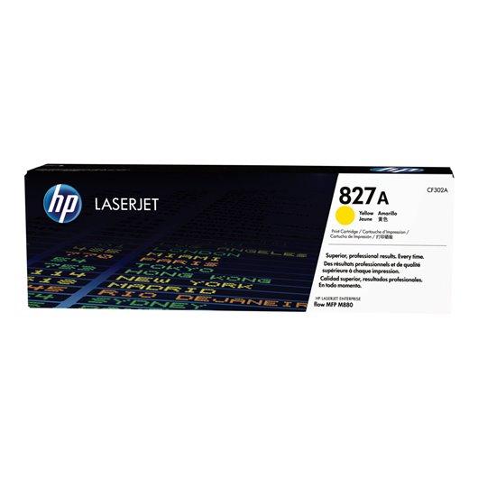 HP CF302A - HP 827A - Jaune - Toner HP