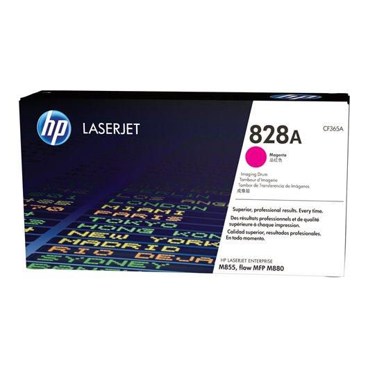 HP 828A original tambour dimage magenta capacité standard 31.500 pages pack de 1