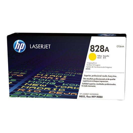 HP CF364A - HP 828A - Tambour- Jaune