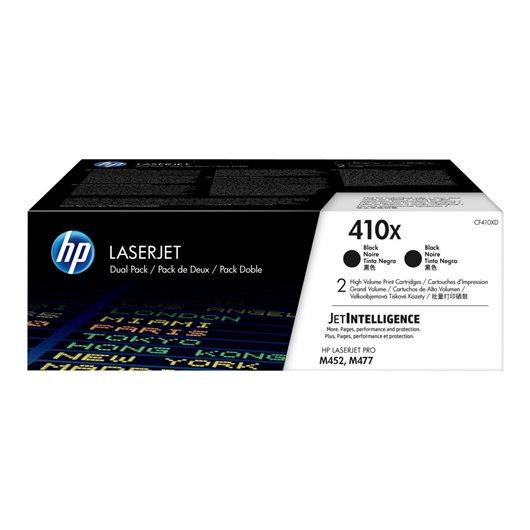 HP CF410XD - HP 410X - Pack de 2 Toner Noir XL HP