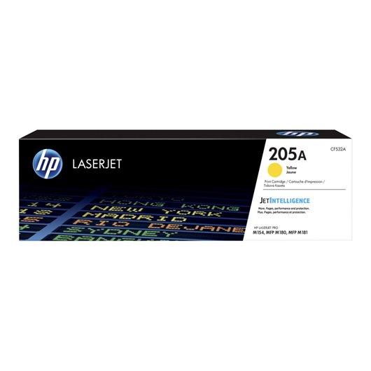 HP CF532A - HP 205A - Jaune - Toner HP