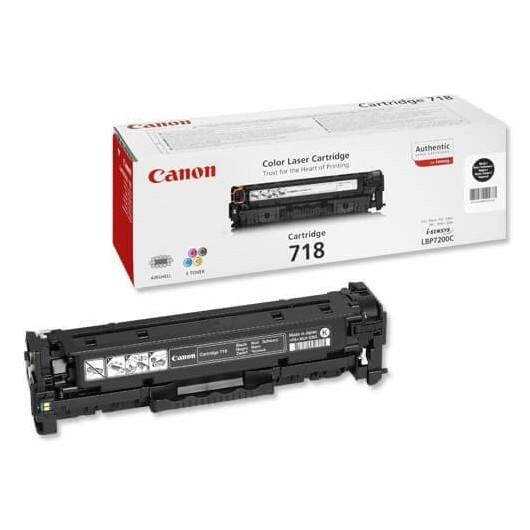 718 Noir Cartouche laser Canon