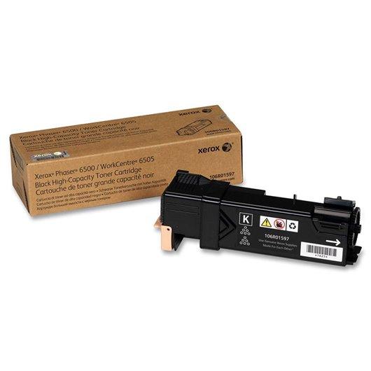 XEROX PHASER 6500, WorkCentre 6505 cartouche de toner noir haute capacité 3.000 pages pack de 1