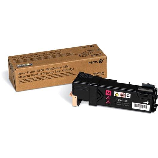 XEROX PHASER 6500, WorkCentre 6505 cartouche de toner magenta capacité standard 1.000 pages pack de 1