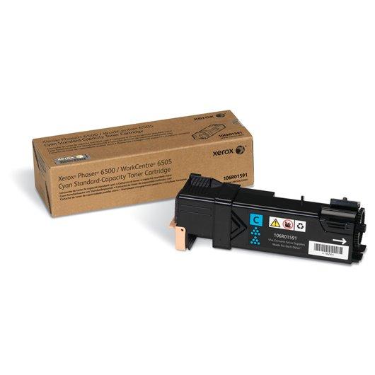 XEROX PHASER 6500, WorkCentre 6505 cartouche de toner cyan capacité standard 1.000 pages pack de 1