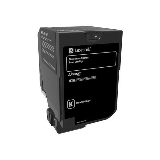 Lexmark 74C20K0 - Noir - Toner Lexmark